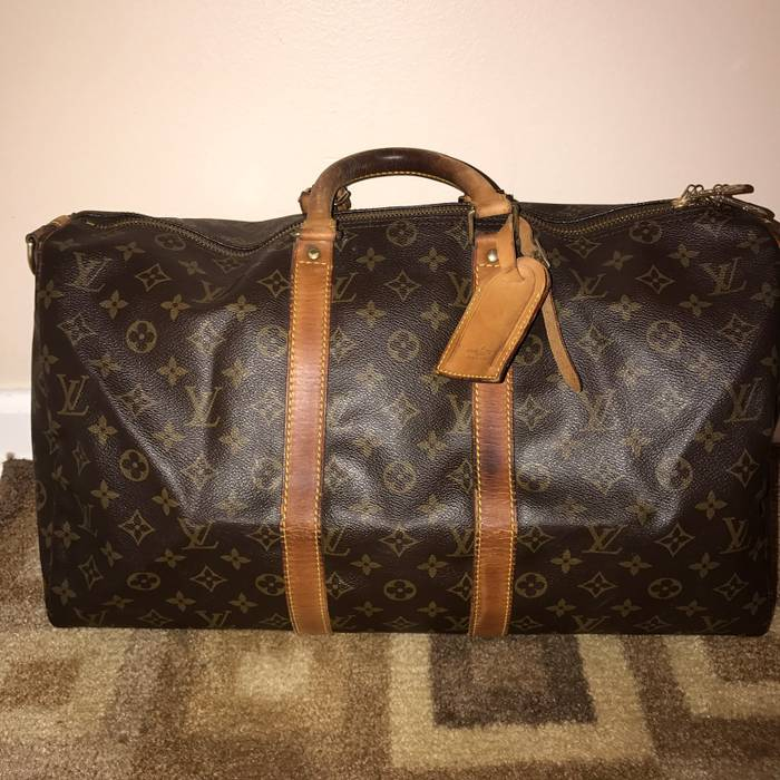 Louis Vuitton. Louis Vuitton Bandouliere Duffle Bag 45 Keepall. Size  ONE  SIZE ddc4b80767323