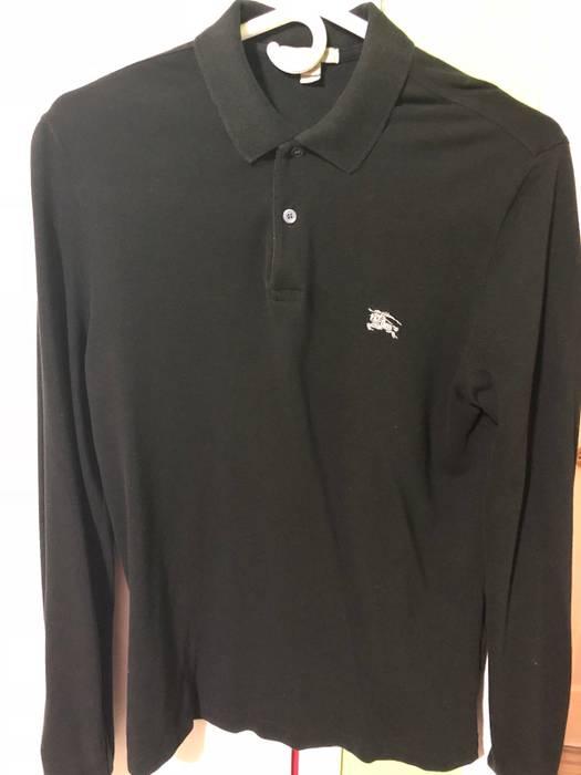 3d776a92cb9a4 Burberry Burberry Black Long Sleeve Polo (M) Size m - Polos for Sale ...