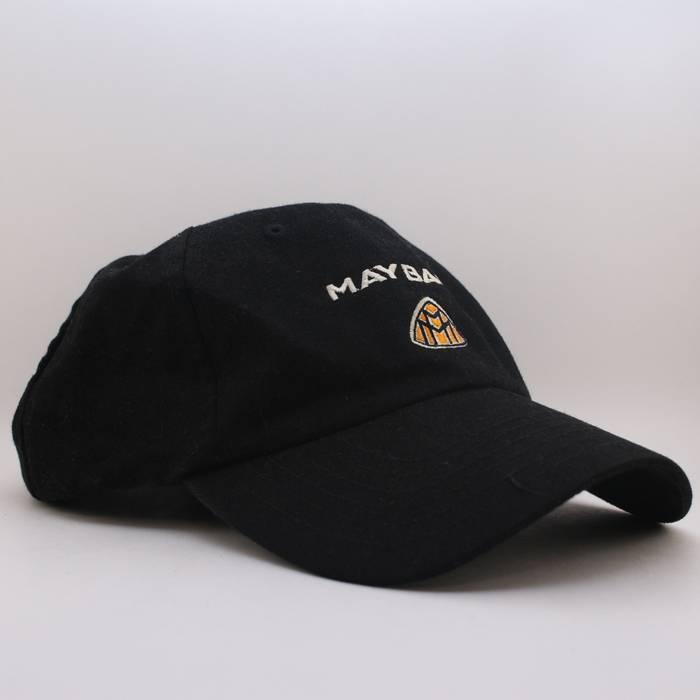 Vintage Mercedes-Benz Maybach Black Logo Adjustable Strapback Baseball Hat  Cap RARE Size ONE SIZE 14014438a18