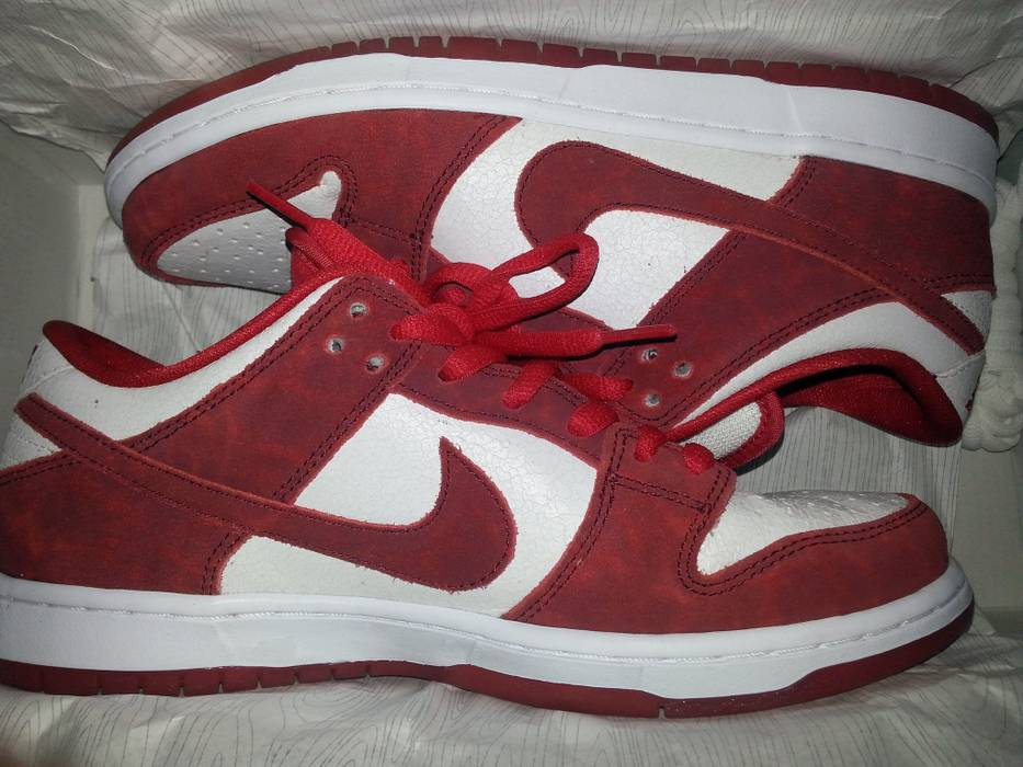 Nike Nike Sb Dunk Low Valentines Day Size 9 Low Top Sneakers For