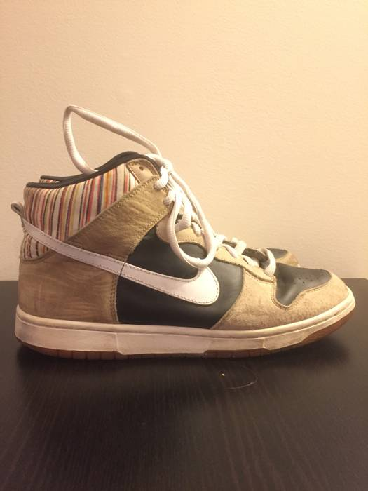 6295e22cc8808e Nike NIKE DUNK HIGH PREMIUM SB PAUL URICH – BLACK   WHITE Size 11 ...