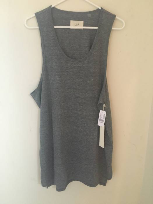 276f2e33929a9 Pacsun Fear Of God Basic Tri-Blend Tank Top Size m - Tank Tops ...