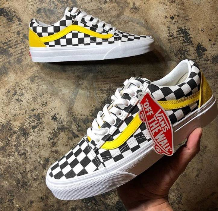 63f77b473a3e Vans Vans Checkerboard Custom Size 11 - Low-Top Sneakers for Sale ...