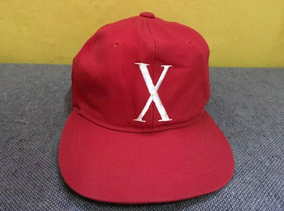 Vintage GREAT MALCOLM X HAT CAP 90 s RED Size one size - Hats for ... c5b1d2a60e2