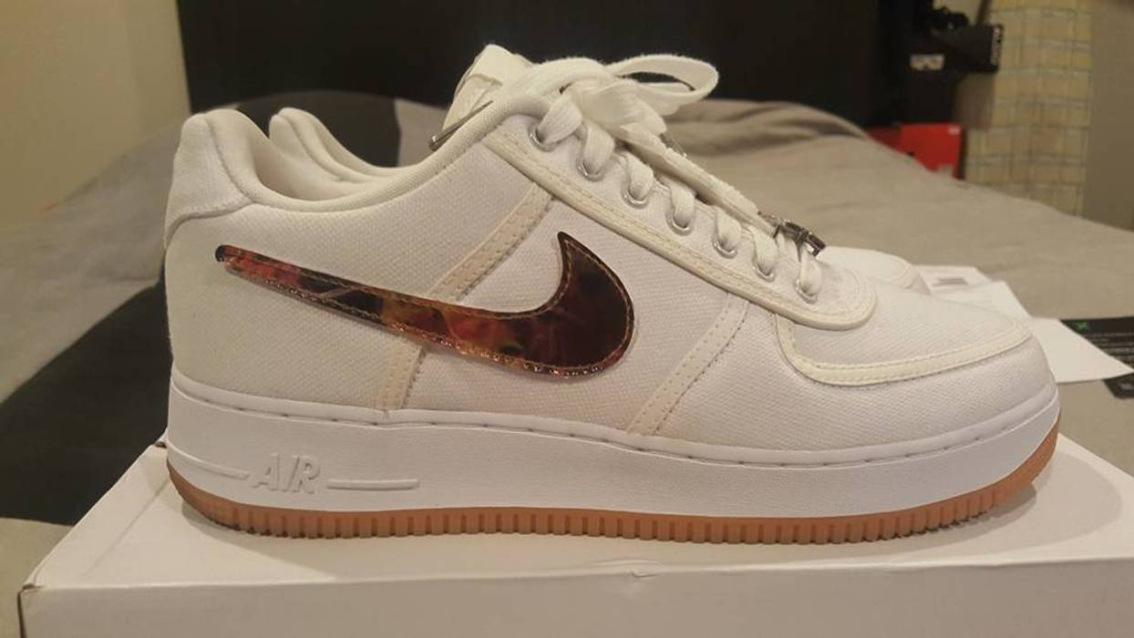 a1d538b569a Nike Air Force One Low Travis Scott (AF100) Size 10 - Low-Top ...