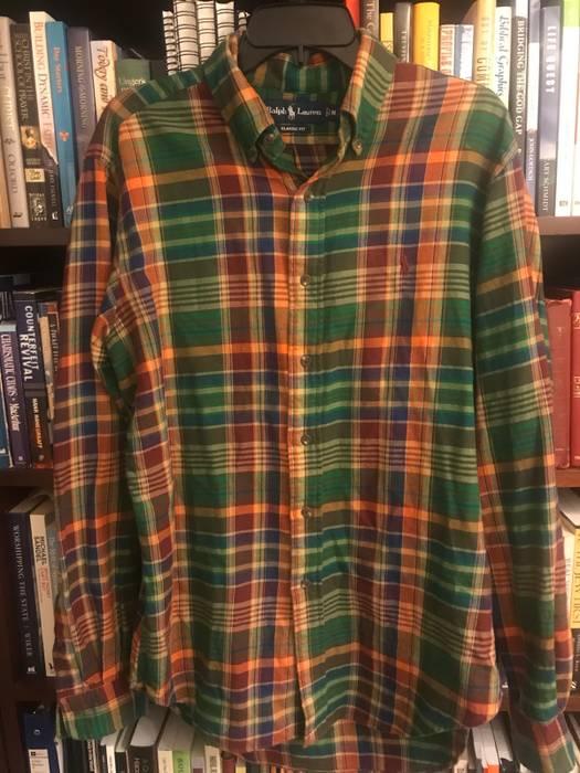 c35ed924d6a0 Polo Ralph Lauren Classic Ralph Lauren Plaid Vintage Shirt. Size M ...