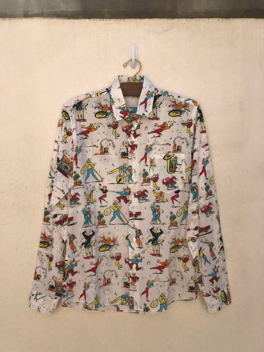 3f329f532764 Prada SS12 Cartoon Button Up Shirt Size m - Shirts (Button Ups) for ...