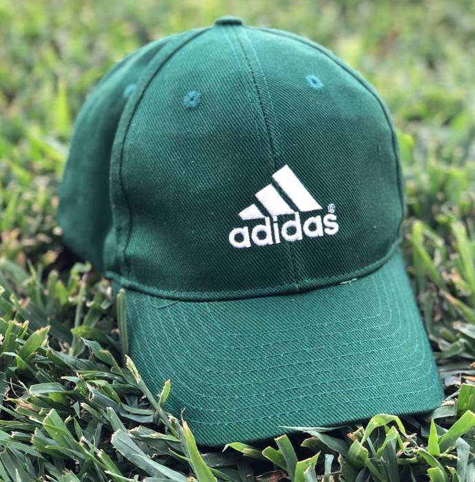 4b28bafd833 Adidas Vintage Adidas 3 Stripes Embroidered Logo SnapBack Hat Size ONE SIZE