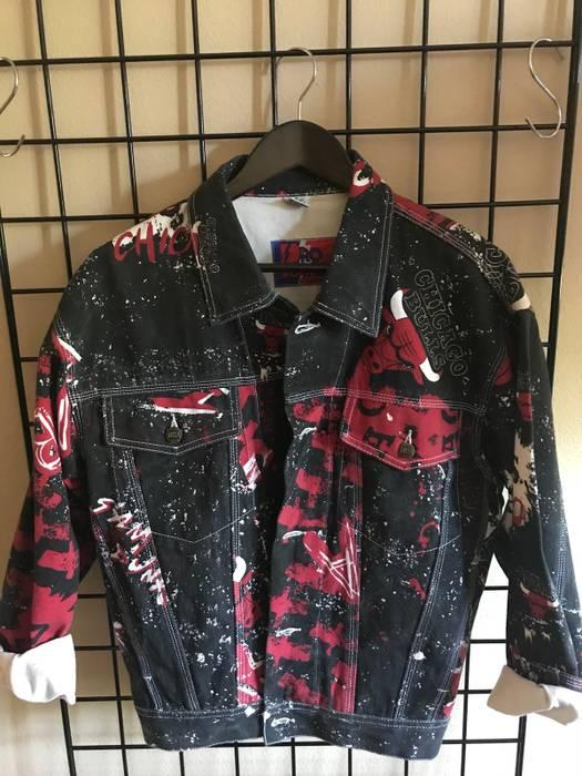 Pro Player Rare Vintage Chicago Bulls Jacket Size s - Light Jackets ... da9030258542