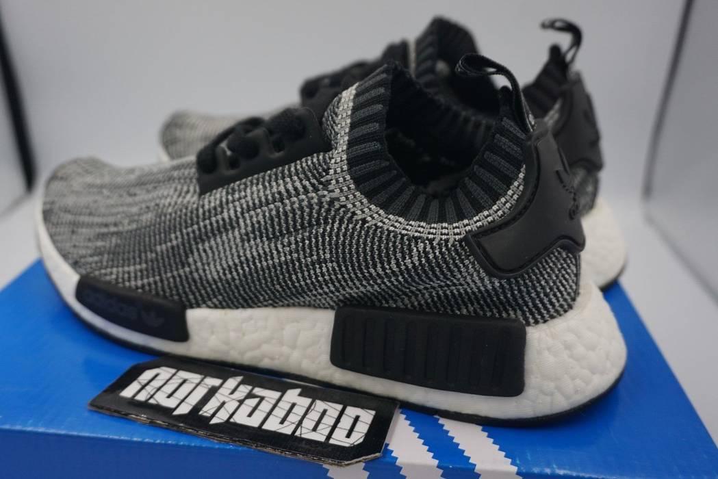 bfb657d823786 Adidas Adidas NMD R1 PK Glitch Grey Oreo S79478 black white Size US 5.5   EU