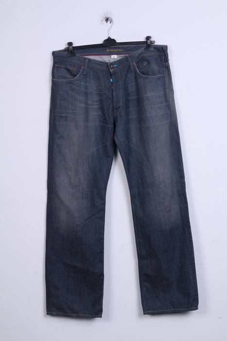 a35717931ef0 Evisu Evisu Mens W38 Trousers Jeans Denim Cotton Blue 1656 Size 38 ...