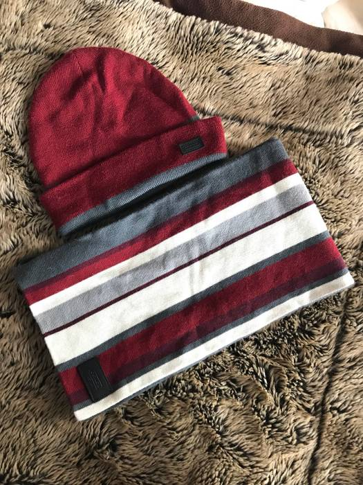 Coach Striped Hat X Scarf Set Size one size - Gloves   Scarves for ... 5f3a9337c0e6