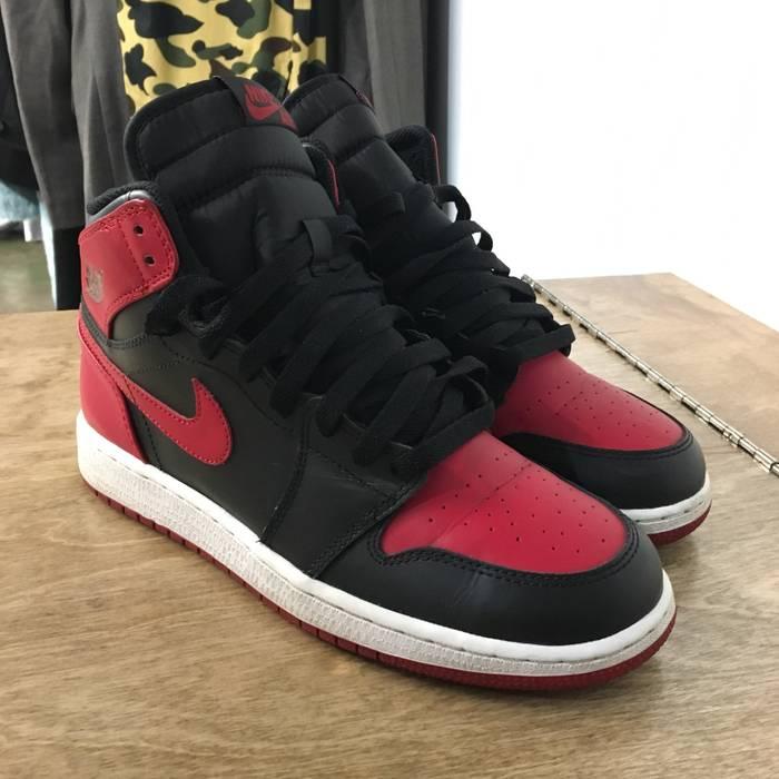 "Nike Air Jordan 1 ""Bred"" 2013 Size 7 - Hi-Top Sneakers for Sale ... 564ad24a1"