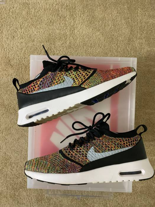 Nike Nike Air Max Thea Ultra Flyknit Multicolor (2017) W12 M10 Size ... b74aed5030