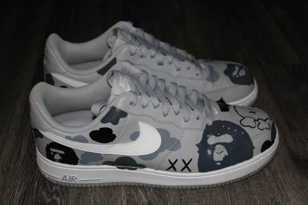 bc584a8284ecd0 ... sweden nike air force 1 kaws x bape camo size us 9.5 eu 42 43 75959