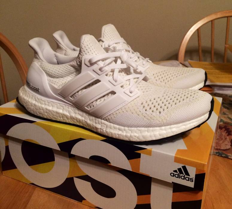 ed763555c1b09 Adidas White Ultra Boost Size 9 - Hi-Top Sneakers for Sale - Grailed