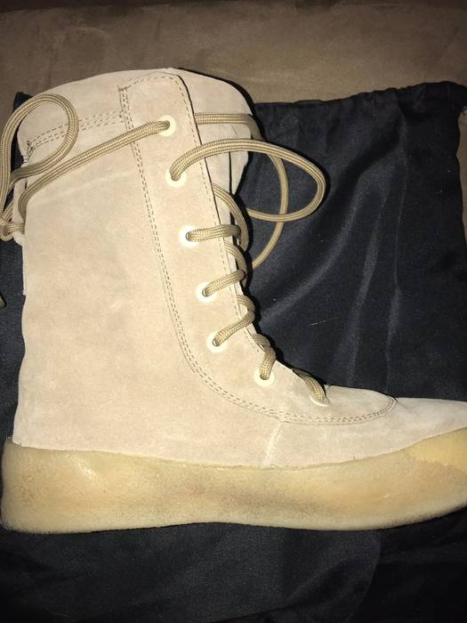 0da365266de76 Yeezy Season Yeezy Season 2 Crepe Boots Size 11 - Boots for Sale ...