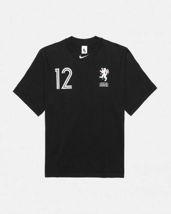 Nike Nike x Off White Mon Amour Soccer Football Collection Black Cropped  Tee Size US 6a5e0a55c