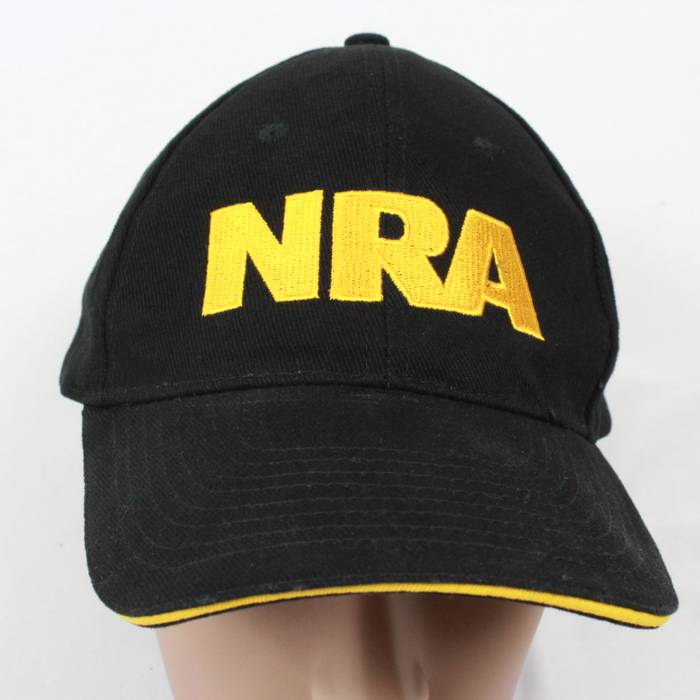 Vintage 90 s NRA Strap Back Hat Adjustable National Rifle Association  VINTAGE Ball Cap Size ONE SIZE db1e5fcdd20