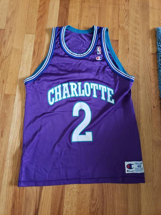 check out 7cdc2 856d6 aliexpress larry johnson charlotte hornets jersey 77c8a 27006