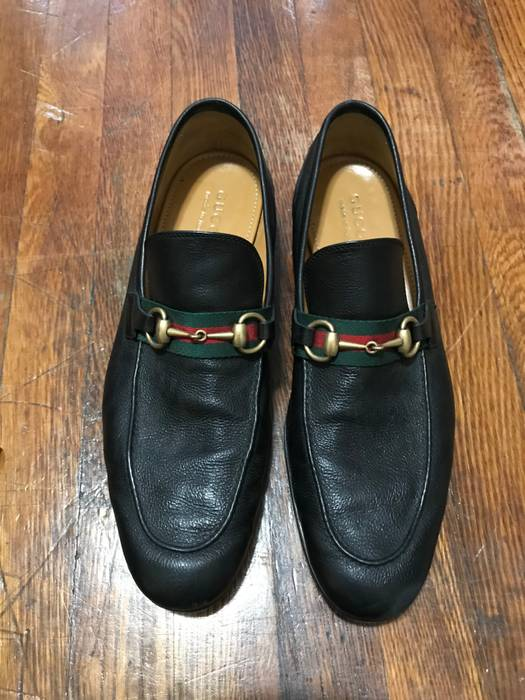 f500433e1cd Gucci Horsebit Leather Loafers w  web Size 12 - Formal Shoes for ...