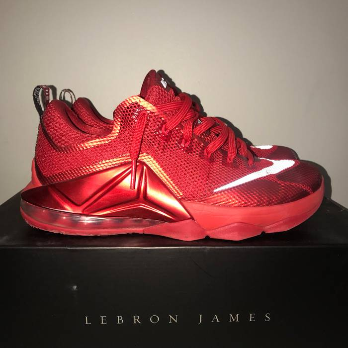 """Nike LeBron 12 Low """"University Red"""" Size 10.5 - Low-Top Sneakers for ... 9e0607418"""