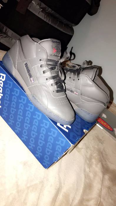 Reebok Reebok Workout Mid Ice Size 9.5 - Low-Top Sneakers for Sale ... 544222b83