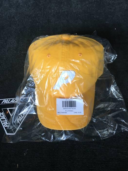 9bbf2cab85d Palace PALACE P LOGO 6-PANEL HAT - NECTARINE Size one size - Hats ...