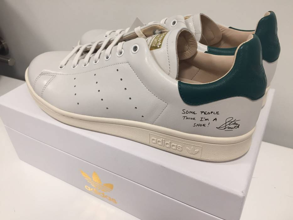 Adidas Some People Think Im a Shoe Stan Smith Recon Book Release Sample  Size US 10 79b8fbf6f