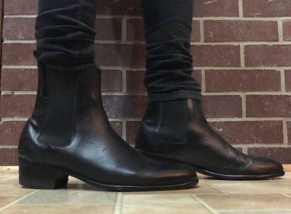9083b553068 H By Hudson Watts Black Chelsea Boot (added heel)   Saint Laurent Wyatt  Alternative
