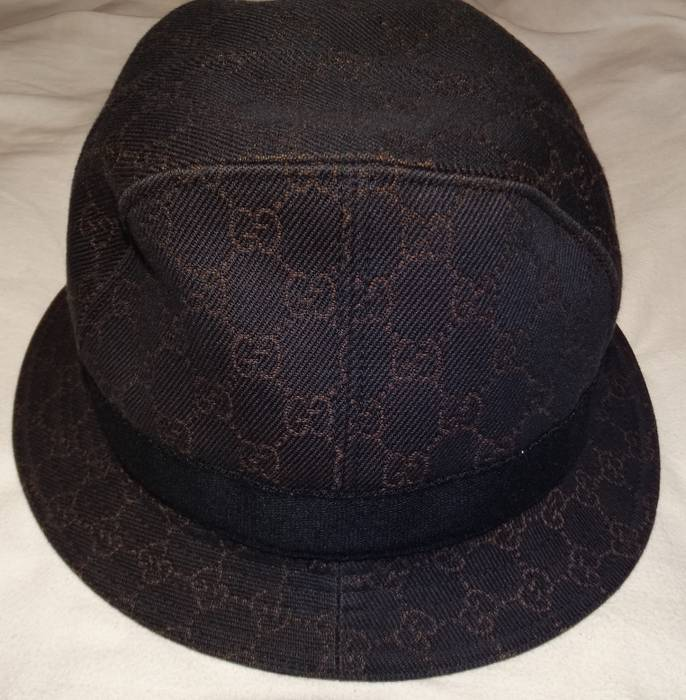 Gucci Gucci GG Canvas Bucket Hat made in Italy Size one size - Hats ... 79ef41da059