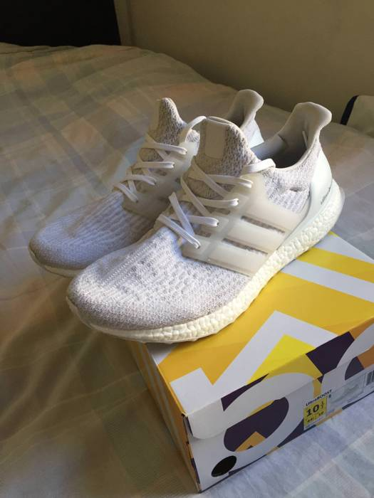 d60c158398a1 Adidas Ultra Boost 3.0 Triple White Size 10.5 - Low-Top Sneakers for ...