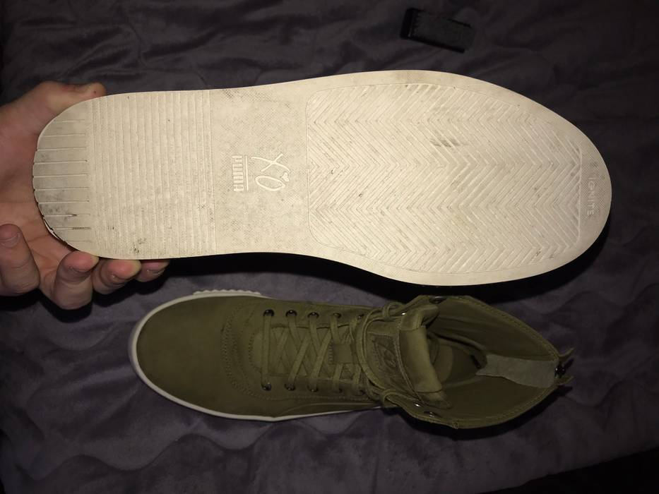 751661232c1 Puma Puma X XO Parallel Boot Olive Green Size 9 - Boots for Sale ...