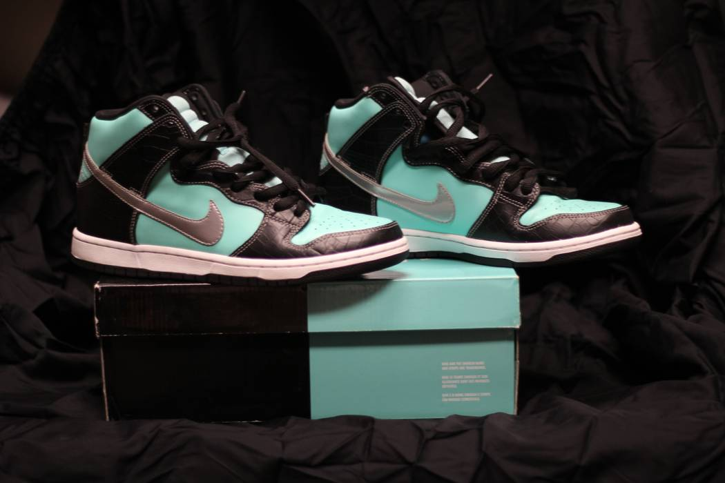 e345ae672267 Nike Diamond Supply Co. x Dunk High Premium SB -