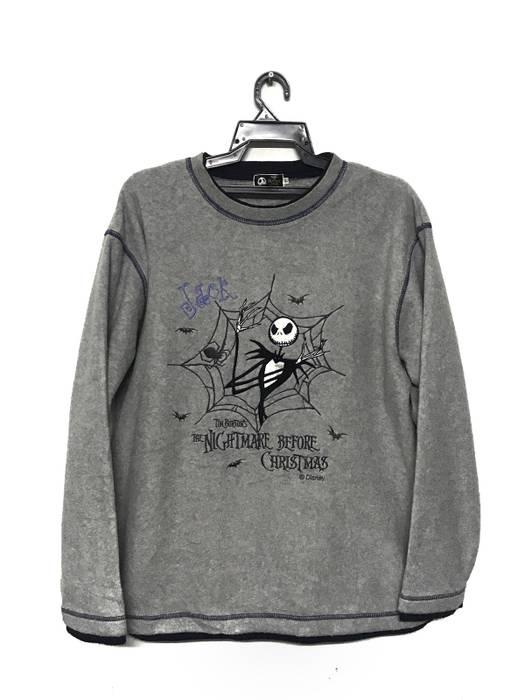 Movie Tim Burton's The Nightmare Before Christmas fleece shirt Size US L / EU 52-