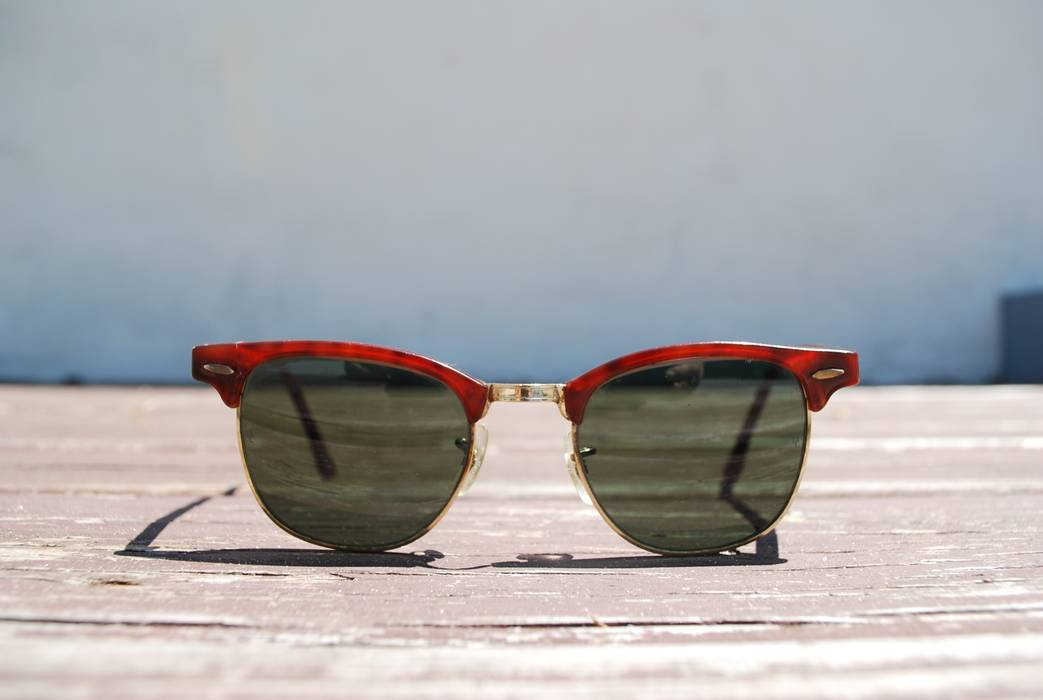 2c96ecb96eb RayBan Vintage Bauch Lomb Clubmasters Size one size - Sunglasses for ...