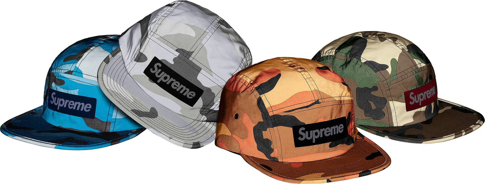 Supreme Reflective Camo Camp Cap Olive Size one size - Hats for Sale ... 990c10e0b