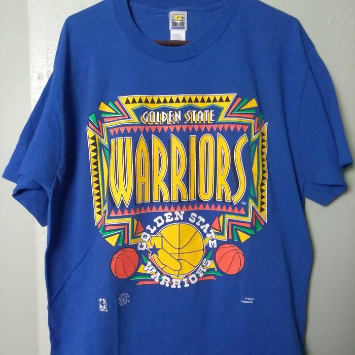 Warriors Vintage GSW Warriors Shirt pre 80 s 90 s memorabilia Rare ... bbff886f7