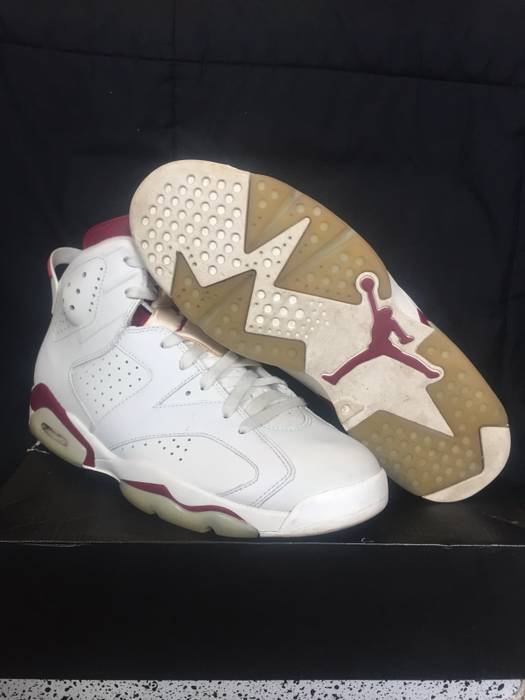 576140403904dd Jordan Brand Air Jordan 6 Maroon Size 11 - Hi-Top Sneakers for Sale ...