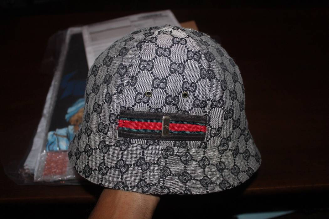 Gucci vintage gucci monogram bucket hat Size one size - Hats for ... fe84e7b17fc