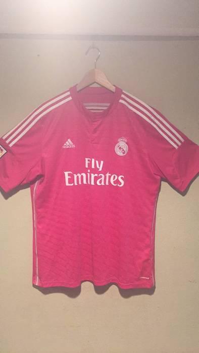 Adidas Real Madrid Away Jersey Pink Size xl - Short Sleeve T-Shirts ... 115dbc5f5