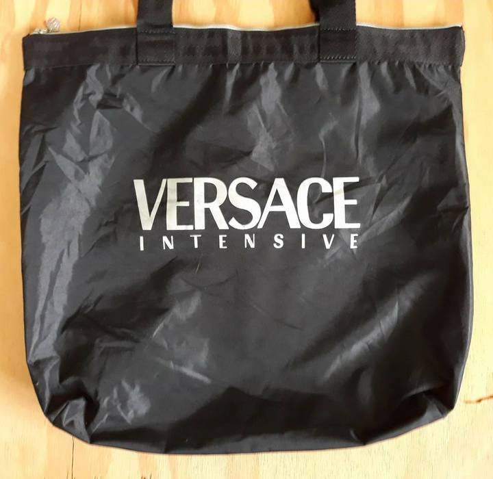Versace Intensive Black Tote bag Size one size - Bags   Luggage for ... a932531cca