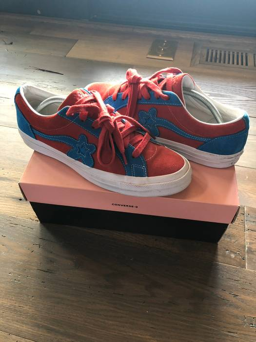 Converse Converse One Star Ox Tyler The Creator Golf Le Fleur Red