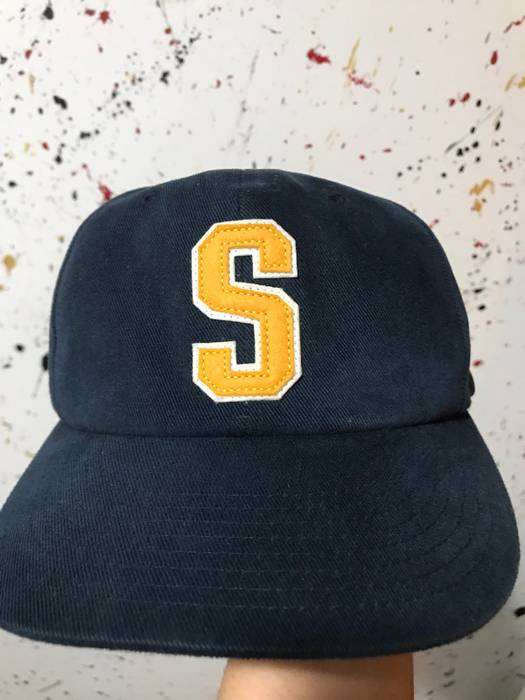 Stussy Stussy Blue Double S Appliquéd Cotton Baseball Cap Size ONE SIZE - 1 49420112685