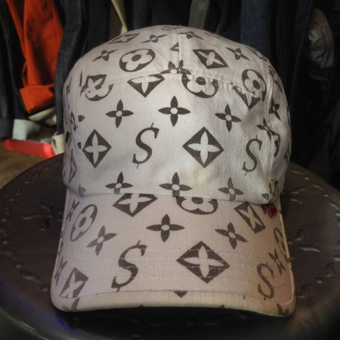 Supreme Supreme Monogram Louis Vuitton Camp Cap Hat 5panel Size ONE SIZE d65e152a5d6e