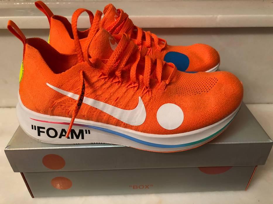 ee4ee0c94b2f Nike Nike X Off-White Zoom Fly Mercurial Size 9 - Low-Top Sneakers ...