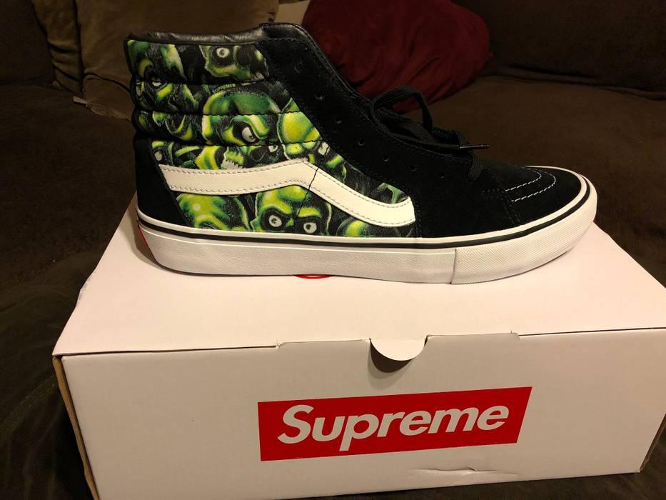 Supreme Supreme x Vans Sk8-Hi Pro (Skull Pile) Size 12 - Hi-Top ... eb13031195