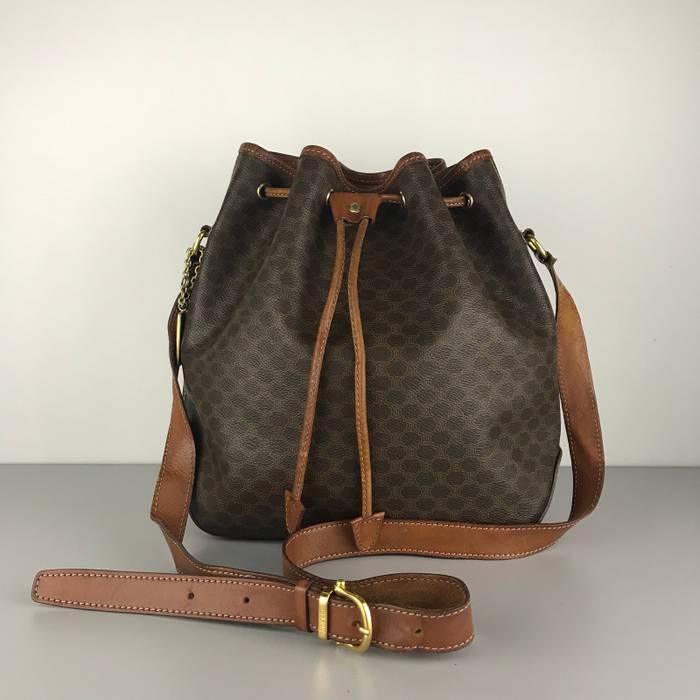 e025c4674d Celine Authentic Celine Macadam Drawstring Bucket Bag Size one size ...