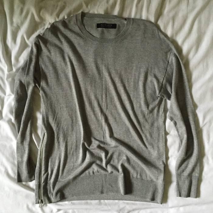 492e8123 Allsaints. All Saints Sweater with Zipper Small. Size: US S / EU 44-46 / 1