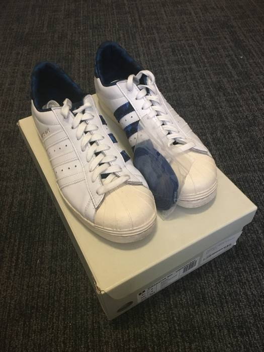 sale retailer 8ad71 09ab5 Adidas Adidas Consortium x Undefeated x Bape Superstar 80s Size US 9  EU 42